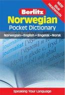 Berlitz - Norwegian Pocket Dictionary (Berlitz Pocket Dictionary) (English and Norwegian Edition) - 9789812469595 - V9789812469595