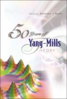 - 50 Years of Yang-Mills Theory - 9789812560070 - V9789812560070