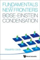 Ueda, Masahito - Fundamentals and New Frontiers of Bose-Einstein Condensation - 9789812839596 - V9789812839596