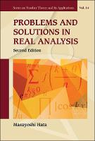 Masayoshi Hata - Problems and Solutions in Real Analysis: 2nd Edition (Series on Number Theory and Its Applications) - 9789813142824 - V9789813142824