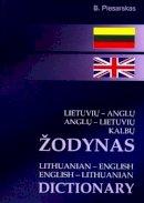 Piesarskas, B - Lithuanian-English and English-Lithuanian Dictionary - 9789986833529 - V9789986833529