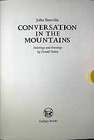 Banville, John - Conversations in the Mountains Paintings and Drawings by Donald Teskey -  - KCK0001253