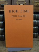 Mahon, Derek - High Time A Comedy in one act Based on Moliere's The School for Husbands -  - KCK0001346