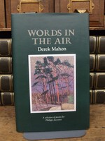 Mahon, Derek - Words in the Air A selection of Poems by Philippe Jaccottet with reanslations and Introduction by Derek Mahon -  - KCK0001355
