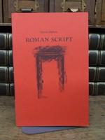 Mahon, Derek - Roman Script with Drawings by Anne Madden -  - KCK0001359