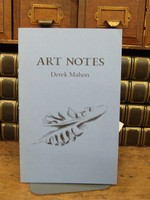 Mahon, Derek - Art Notes with drawings by Vivinne Roche -  - KCK0001366