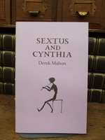 Mahon, Derek - Sextus and Cynthia after Sextus Propertius C. 50-16BC with drawings by Hammond Journeaux -  - KCK0001371