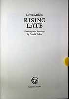 Mahon, Derek - Rising Late Paintings and drawings by Donald Teskey -  - KCK0001388