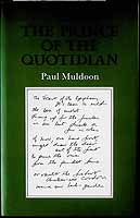 Muldoon, Paul - The Prince of the Quotidian -  - KCK0001417