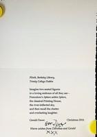 Dawe Gerald - Plinth,Berkeley Library Trinity College Dublin -  - KCK0001836