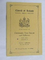 - Church of Ireland Young Mens Society Report for 1951-52 -  - KDK0004703