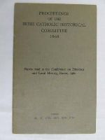 - Proceedings of the Irish Catholic Historical Committee 1960 -  - KDK0004724