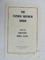 - The Father Mathew Union 1972/73 Annual report -  - KDK0004801