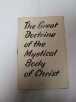 - The Great Docterine of the Mystical Body of Christ -  - KDK0004870