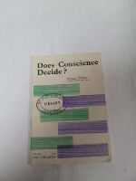 William J. Philbin - Does Consience Decide? -  - KDK0004880