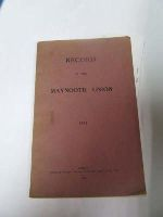 - Record of the Maynooth Union 1933 -  - KDK0004924