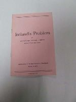 Rev William J Philbin - Ireland's Problem -  - KDK0004926