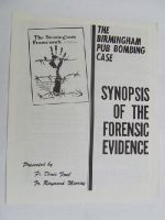 Fr Denis Faul / Fr Raymond Murray - The Birmingham Pub Bombing Case: Synopsis of the Forensic Evidence -  - KDK0004988