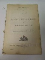 - The Report of the President of Queens College Belfast for thr Year ending March 1 1860 -  - KDK0005277