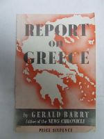 Gerard Barry - Report on Greece -  - KDK0005567