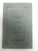 H.L.Brailsford - Turkey and the Road to the East -  - KDK0005584