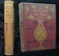 Geike, Cunningham - The Holy Land and the Bible.: A book of Scripture illustrations gathered in Palestine -  - KEX0031319