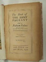 F.R. Benson & Algernon Tudor Craig (ed) - The Book of the Army Pageant Held at Fulham Palace -  - KEX0093088
