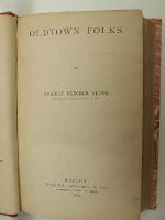 Harriet Beecher Stowe - Oldtown Folks -  - KEX0157681