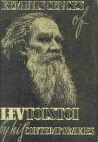 . - Reminiscences of Lev Tolstoi by his Contemporaries -  - KEX0157853