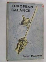 Peter Matthews - European Balance -  - KEX0194516