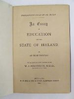 Doyle, James Warren - An essay on education and the state of Ireland with explanatory notes by W J Fitzpatrick -  - KEX0243548