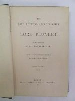 Baron William Conyngham Plunket Plunket - The Life, Letters, and Speeches of Lord Plunket. Two Volumes with an introduction by Lord Brougham -  - KEX0243557