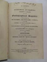 John C Erck - An Account of the Ecclesiastical Establishment Subsisting in Ireland;as also, an Ecclesiastical Register of the Names of the Dignitaries, and Parochail Clergy; and of the parishes and their respective Patrons............; -  - KEX0243635