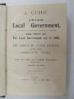 Muldoon, John - A Guide to Irish Local Government, comprising an Account of the Law Relating to the Local Government of Counties, Cities and Districts, with a Full Explanation of the Act of 1898; Together with the Text of the Measure, and an Index -  - KEX0243642