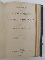 Monsignor Capel - A Reply to the Right Hon. W E Gladstone's' Political Expostulation' -  - KEX0243749