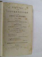 Hay, Edward - History of the insurrection of the County of Wexford, A. D. 1798 : including an account of transactions preceding that event, with an appendix.Embellished with an elegant map of th -  - KEX0266466