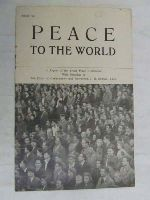 - Peace to the World A Report of the Soviet peace Conference -  - KEX0267420
