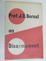 Bernal, J. D - On disarmament -  - KEX0267429