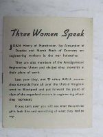 Joan Henry et al - Three Women Speak -  - KEX0268190