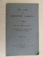 Hailsham of St. Marylebone, Quintin Hogg - The law and employers' liability -  - KEX0268220