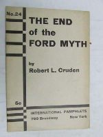 Cruden, Robert Lunan - The end of the Ford myth, (International pamphlets) -  - KEX0268246