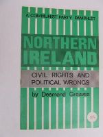 Greaves, C Desmond - NORTHERN IRELAND - CIVIL RIGHTS AND POLITICAL WRONGS -  - KEX0269624
