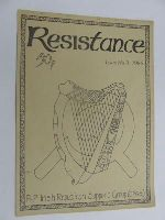 Irish Republican Support Group - Resistance Issue No.3 1986 -  - KEX0269649