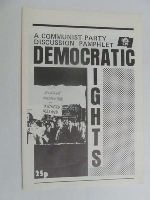 - Democratic Rights A Communist Party Discussion Pamphlet -  - KEX0269656