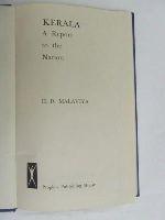 Malaviya, H.D - KERALA A REPORT TO THE NATION -  - KEX0269956