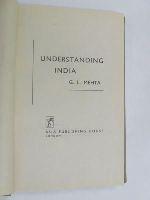 G L Mehta - Understanding India -  - KEX0270017