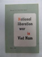 GIAP, GENERAL VO NGUYEN - National liberation war in Viet Nam ~ general line, strategy, tactics. -  - KEX0271307