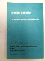 - London Bulletin Special Report on the Second Session of the War Crimes Tribunal Winter 1967-68 Number 4 -  - KEX0271343
