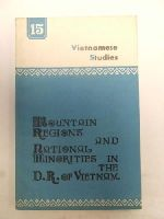 - Vietnamese Studies No. 15: Mountain Regions and National Minorities in theD. R. of Vietnam -  - KEX0271358