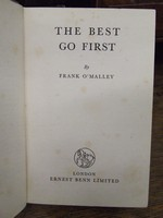 O'MALLEY, Frank - The Best Go First -  - KEX0279655